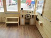 Kleiner Einblick in das Innere des Hausbootes