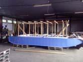 lehký hausbot 7 x 2,9m nejen pro rybáře