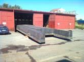 hausboot 17,5 x 4m laden im werft